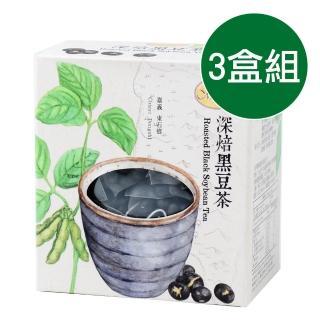 【曼寧】台灣深焙黑豆茶輕巧盒3盒組(8gx15入/盒)