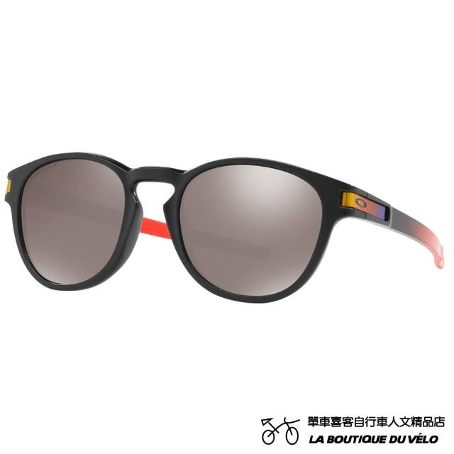 【Oakley】LATCH PRIZM POLARIZED RUBY FADE COLLECTION ASIA FIT(亞洲版 時尚休閒款太陽眼鏡)