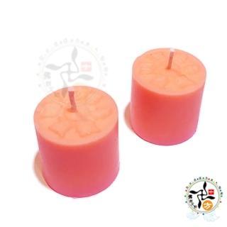 【十方佛教文物】六字真言甘露酥油粒50粒粉紅 姻緣(+祈福燈卡片)