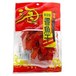 【嘉珍】鐵板燒香魚干80g