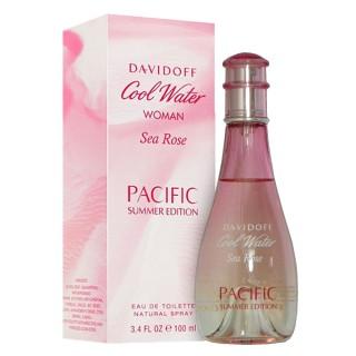 【Davidoff】Sea Rose Pacific 海洋玫瑰夏日限量版淡香水(100ml)
