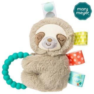 【Mary Meyer】標籤手搖鈴-微笑樹懶(沙沙紙 響紙 彌月禮 固齒器)