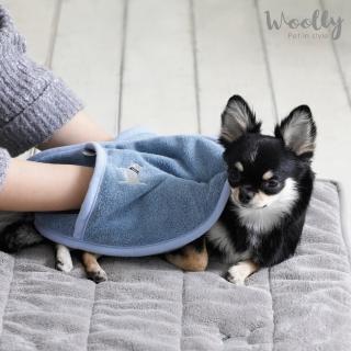 【WOOLLY】查理寵物吸水毛巾(吸水浴巾)
