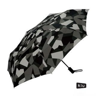 【日本KIU】ASC UMBRELLA自動開合雨傘/抗UV陽傘(65103 抽象迷彩)