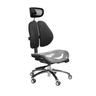 【GXG 吉加吉】高雙背網座 工學椅 /鋁腳/無扶手(TW-2806 LUANH)
