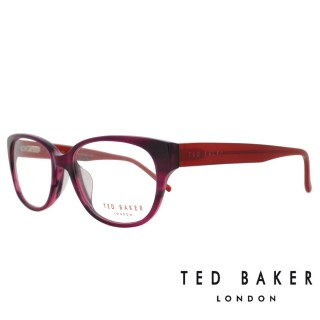 【TED BAKER】倫敦質感時尚造型光學鏡框(TB9053-765·酒紅)