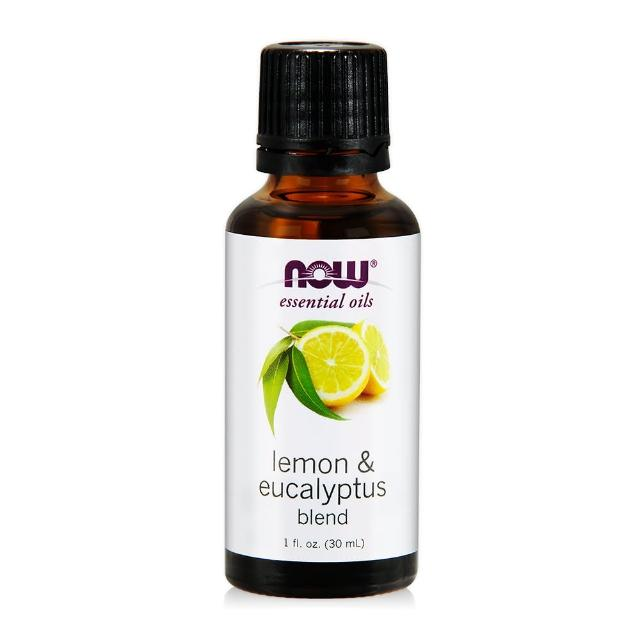 【NOW】檸檬&尤加利複方精油Lemon & Eucalyptus Blend(30ML)