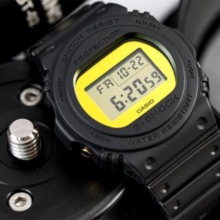 【CASIO 卡西歐】G-SHOCK 榮耀年代金屬鏡面腕錶(DW-5700BBMB-1DR)