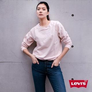 【LEVIS】女款 711 中腰緊身窄管牛仔褲 / 四向彈性延展 / 湛藍刷色-人氣新品
