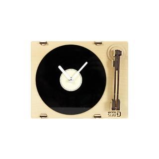 【WOODSUM】韓國 WOODSUM 輕手作。木製模型/黑膠唱片機時鐘(模型)