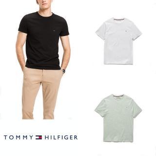 【Tommy Hilfiger】美國湯米/男款經典素T/純棉款(4款可選)