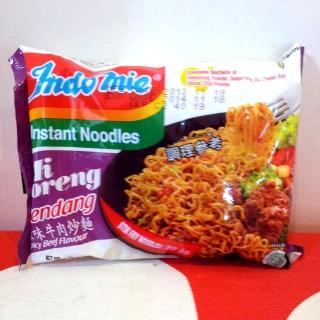 【蘋果市集】印尼Indomie營多炒麵-辣味牛肉(80g/包*40包入)