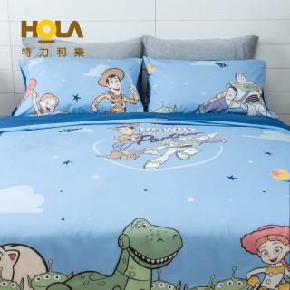 【HOLA】迪士尼系列Toy Story純棉西寢床被組雙人