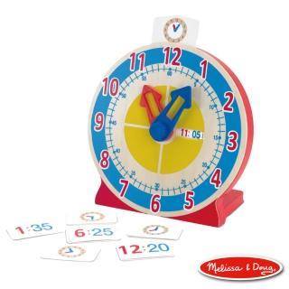 【Melissa & Doug 瑪莉莎】學習認知時鐘