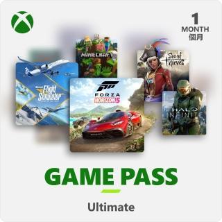 【Microsoft 微軟】XBOX Game Pass 1個月訂閱卡終極版含LiveGold金會員- ESD 數位下載版