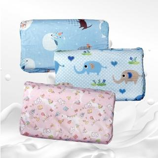 【Victoria】兒童成長型天然人體工學乳膠枕(花色多款隨機出貨)