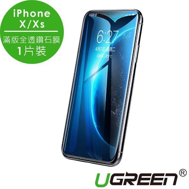 【綠聯】iPhoneX/XS鋼化膜