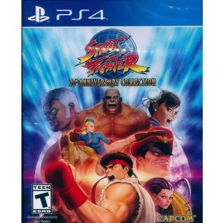 【SONY 索尼】PS4 快打旋風 30 週年紀念合集 中英日文美版(Street Fighter 30th Anniversary)