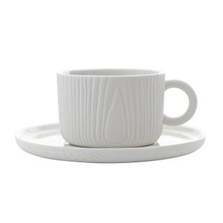 【TOAST】MU 咖啡杯盤組_白