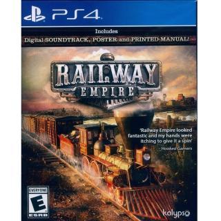【SONY 索尼】PS4 鐵路帝國 英文美版(Railway Empire)
