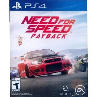 【SONY 索尼】PS4 極速快感:血債血償 中英文美版(Need for Speed: Payback)