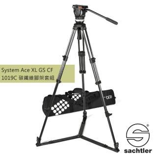 【沙雀 SACHTLER】1019C Ace XL GS CF 錄影油壓 碳纖維三腳架套組(公司貨)