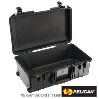 【PELICAN】1535NF Air輪座拉桿超輕氣密箱-空箱(黑)
