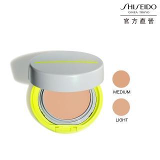 【SHISEIDO 資生堂國際櫃】新艷陽.夏 水離子防晒水粉餅蕊(L 明亮色/M 自然色)