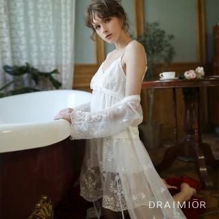 【久慕雅黛】DRAIMIOR花樣柔紗蕾絲睡衣組