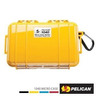 【PELICAN】1040 微型防水箱(黃色)
