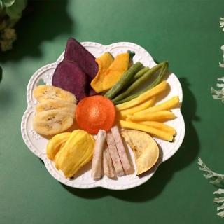 【青市集】綜合蔬果脆片 180G(綜合蔬果、蔬果脆片、餅乾)