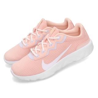 【NIKE 耐吉】慢跑鞋 Explore Strada 運動 女鞋 輕量 透氣 舒適 避震 球鞋 穿搭 粉 白(CD7091-600)