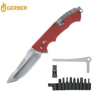 【Gerber】Hinderer Rescue 救援者多功能鋸齒折刀(22-01534)