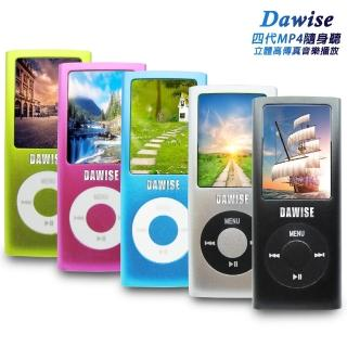 【DW 達微科技】B1841A Dawise輕薄四代1.8吋彩色螢幕 MP4隨身聽(內建16GB記憶體 送6大好禮)