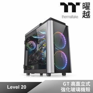 【Thermaltake 曜越】Level 20 GT 高直立式強化玻璃機殼(CA-1K9-00F1WN-00)