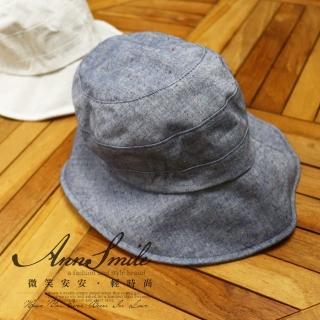 【微笑安安】韓國製點點彩紗純棉漁夫帽(2色)