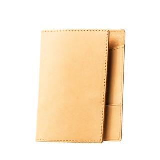 【LIEVO】EASY - 真皮感應護照套(ES02-OL原皮色)