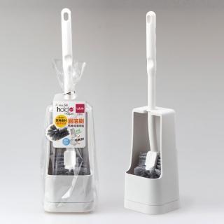 【UdiLife】hold刷  廁底刷馬桶清潔刷2入組(馬桶刷 彎頭 附底座)