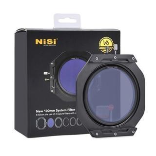【NISI】耐司 V6 方型濾鏡支架 100mm 含CPL+轉接環+收納包(V5改款 100x100mm 100x150mm可用)