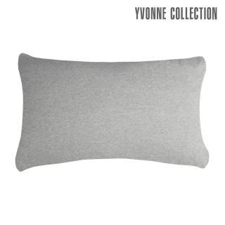 【Yvonne Collection】素面拼接枕套_可搭配倒影馴鹿系列(灰)