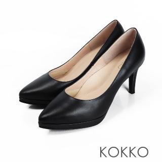 【KOKKO 集團】美麗心計尖頭女王高跟鞋(經典黑)