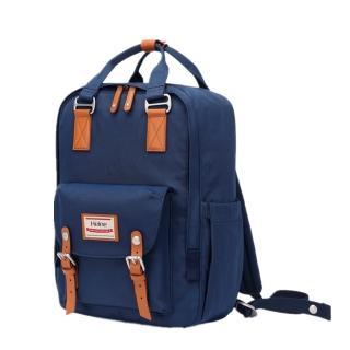 【Heine 海恩】WIN-191P 加大版媽媽後背包 大容量 收納款後背包 藏藍色(後背包 休閒包 旅行背包)