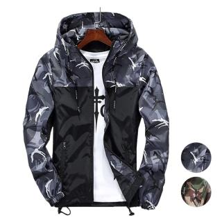 【CPMAX】迷彩連帽外套 連帽外套 防水 迷彩夾克 迷彩外套 男外套 連帽外套 男夾克 迷彩夾克 MA1(C38)