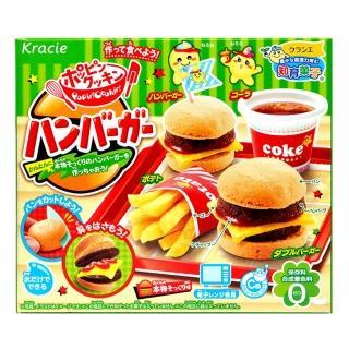 【kracie 知育果子】創意DIY-漢堡小達人22g