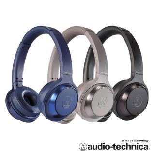 【audio-technica 鐵三角】ATH-WS330BT 無線耳罩式耳機