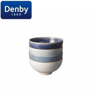 【DENBY】藍色藝匠4色(飯碗禮盒)