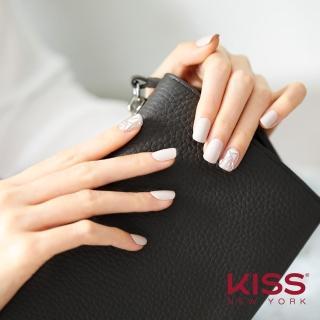 【KISS New York】Press&Go指甲貼片(煙燻馬賽克 KPNS05K)