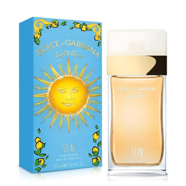 【D&G】Light Blue Sun Woman 陽光夏日女性淡香水(50ml)