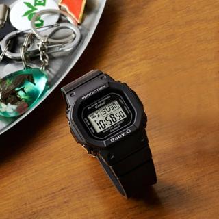 【CASIO 卡西歐】Baby-G 人氣經典電子錶-黑(BGD-560-1DR)