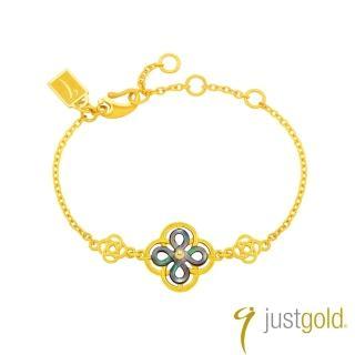 【Just Gold 鎮金店】喜‧如意純金系列 黃金手鍊